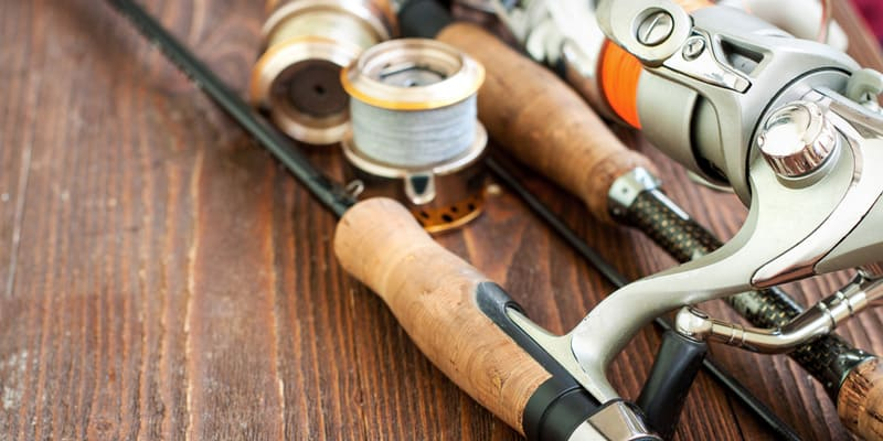 Fishing gears for beginners