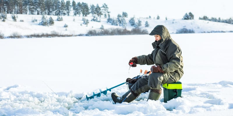 Ice Fishing equipments