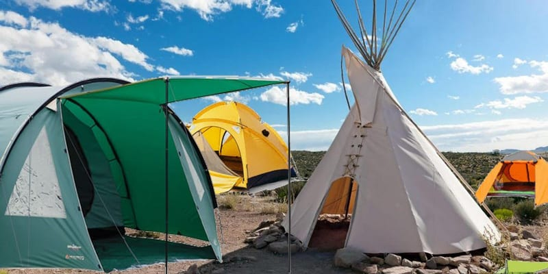 Different Types of Tents for campers