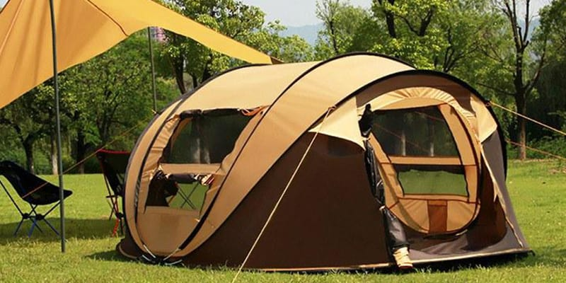 Pop Up Tent for any weather conditions