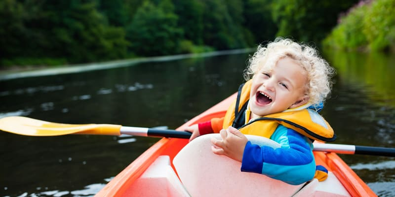 child safety in kayaking