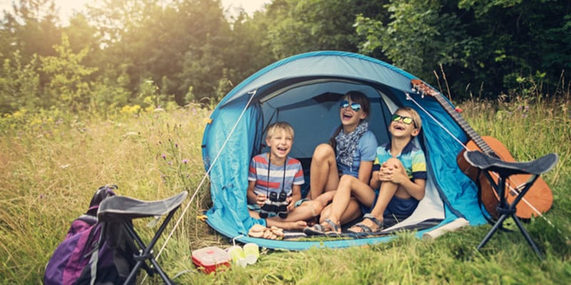 family friendly campsites