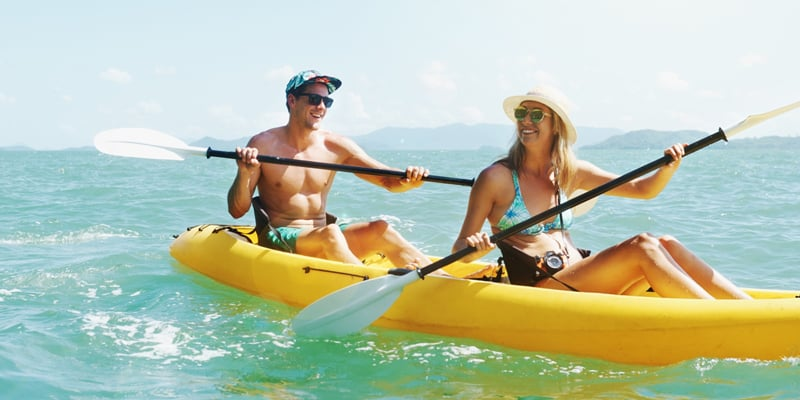 Kayaking for health benefits