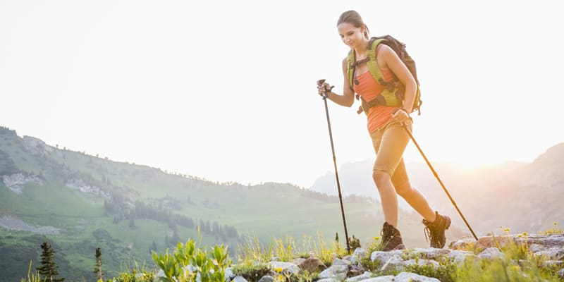 Hiking Poles as Hking Essentials