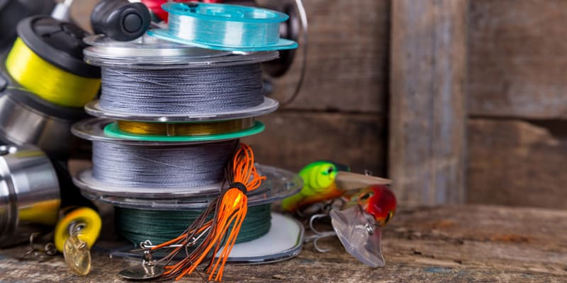 Knots for Monofilament and Fluorocarbon Lines