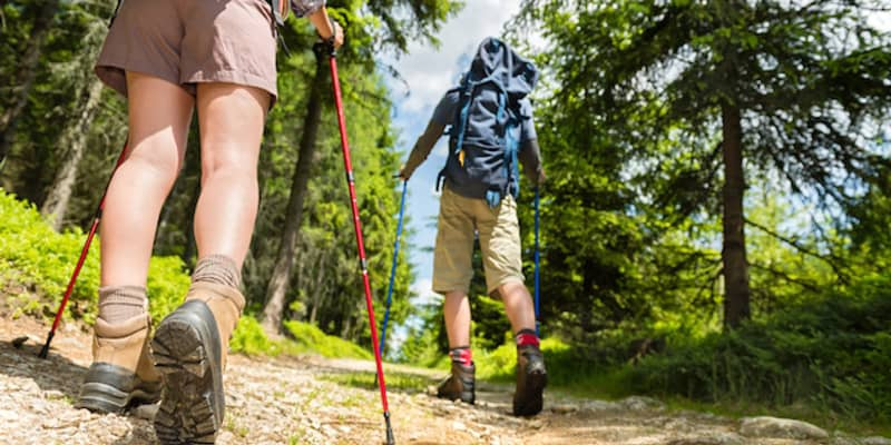 Using your Hiking Poles