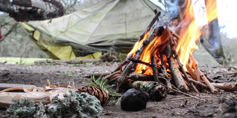 Build a Fire for your Camp
