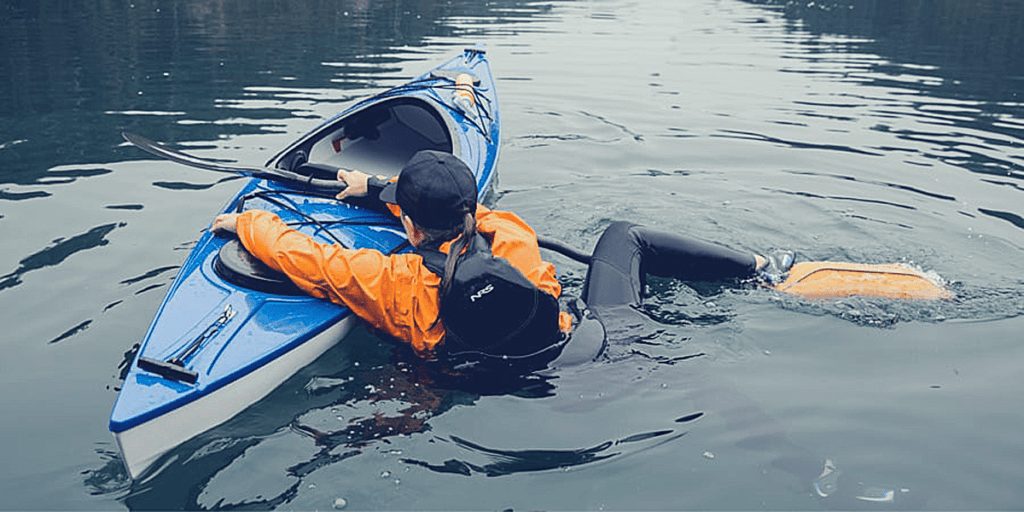 How To Get Back In A Kayak After Failing Out