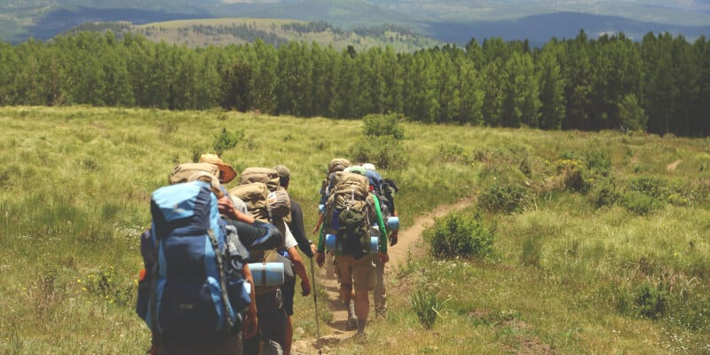 group backpacking