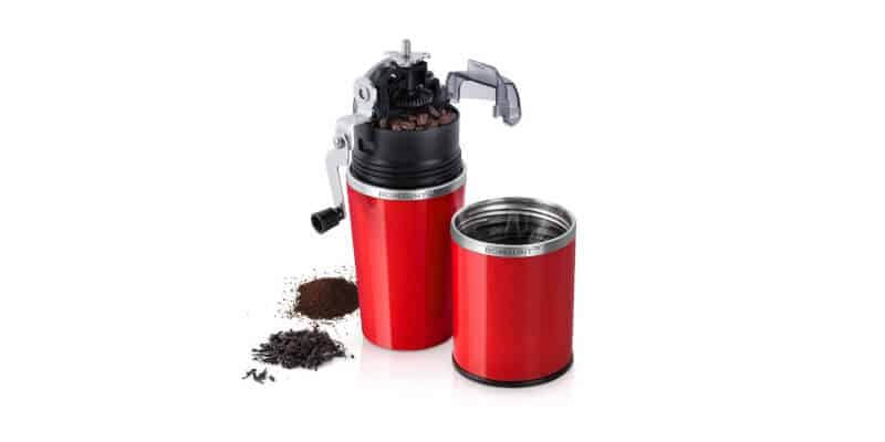 All In One Portable Manual Grind Brew Coffee Maker (1)