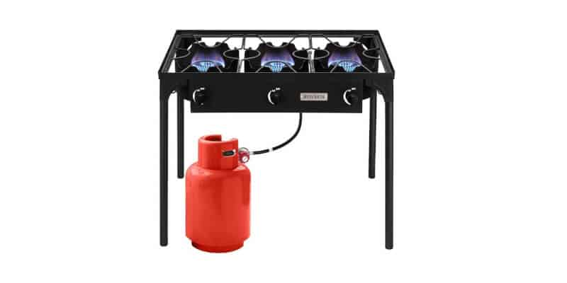 ROVSUN 3 Burner High-Pressure Outdoor Camping Burner