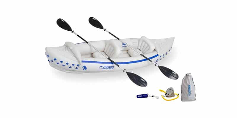 Sea Eagle 330 Deluxe 2 Person Inflatable Sport Kayak
