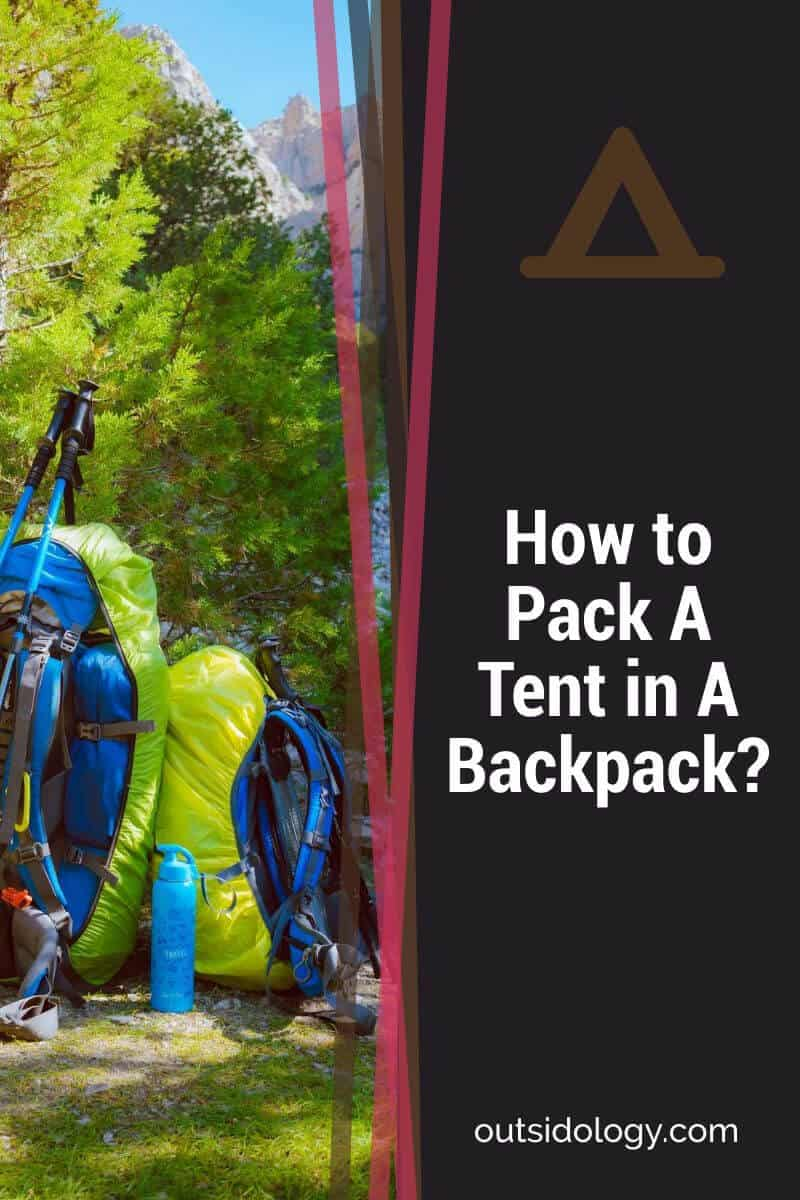 How to Pack A Tent in A Backpack (2)