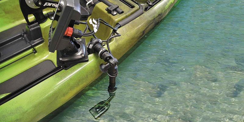 Fish Finder Transducer recommended Position
