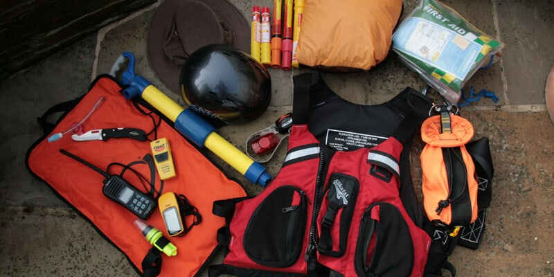 Safety Equipment for Kayak