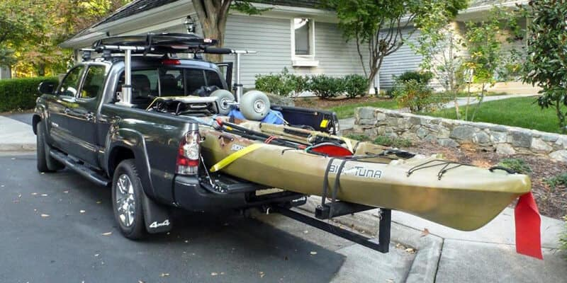 Transporting kayak with your Truck