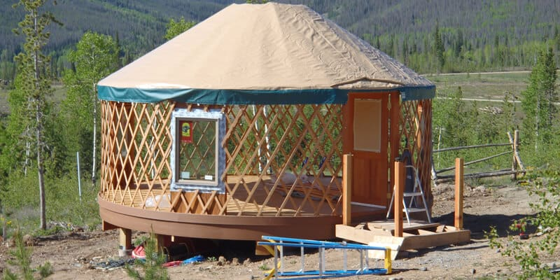 Build Your Own Yurt Roof and Cover