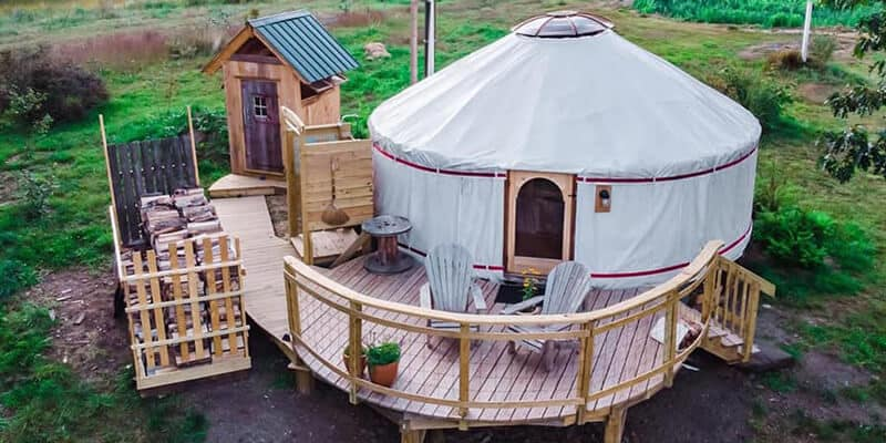 Building Yurts that will Last