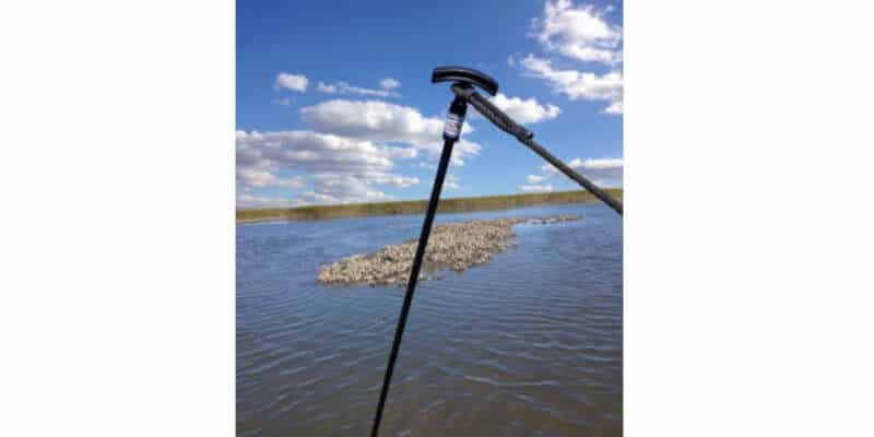 Shallow Water Anchor Pin - Best Overall Stake Out Pole
